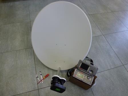 Nastavení paraboly (Dvě družice)
