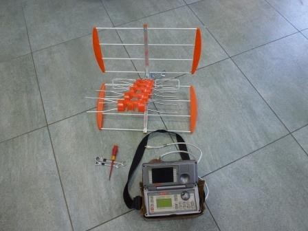 Nastavení antény DVB-T měřícím přístrojem