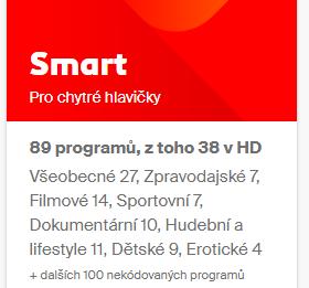 Balíček Smart 1měsíc