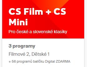 CS FilM + CS Mini 1měsíc