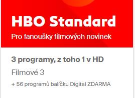 HBO Standard 1 měsíc