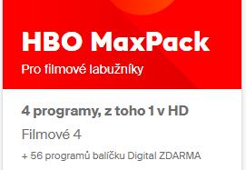 HBO MaxPack 1 Rok Akce 10+2